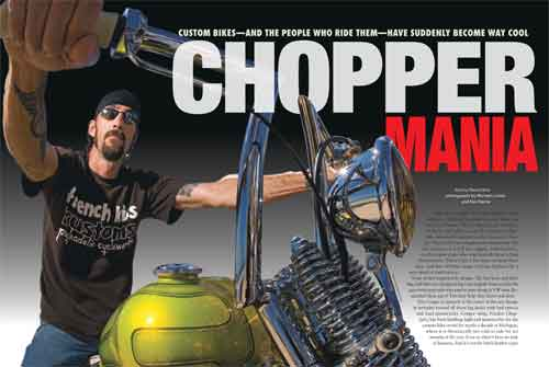 Spread one of Chopper Mania feature