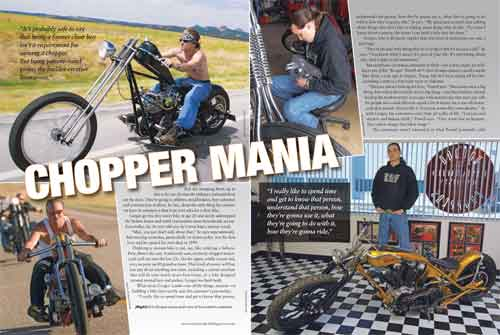 Spread two of Chopper Mania feature