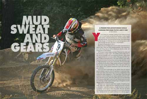Spread one of Mud, Sweat and Gears feature